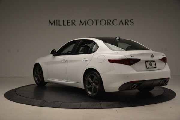 New 2017 Alfa Romeo Giulia Ti Sport Q4 for sale Sold at Bentley Greenwich in Greenwich CT 06830 5