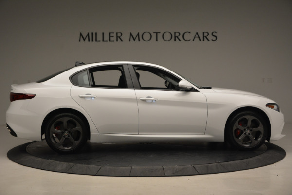 New 2017 Alfa Romeo Giulia Ti Sport Q4 for sale Sold at Bentley Greenwich in Greenwich CT 06830 9