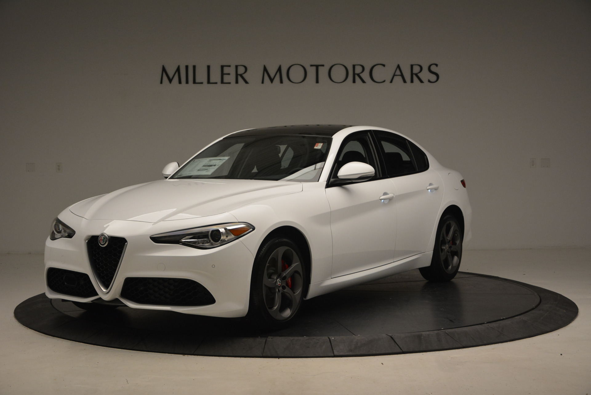 New 2017 Alfa Romeo Giulia Ti Sport Q4 for sale Sold at Bentley Greenwich in Greenwich CT 06830 1