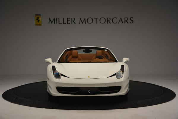Used 2012 Ferrari 458 Spider for sale Sold at Bentley Greenwich in Greenwich CT 06830 12