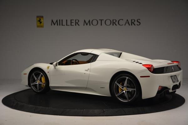 Used 2012 Ferrari 458 Spider for sale Sold at Bentley Greenwich in Greenwich CT 06830 16