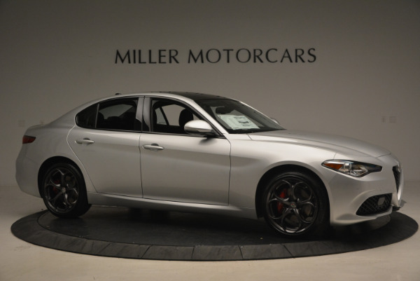New 2017 Alfa Romeo Giulia Ti Q4 for sale Sold at Bentley Greenwich in Greenwich CT 06830 10