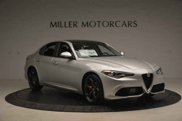 New 2017 Alfa Romeo Giulia Ti Q4 for sale Sold at Bentley Greenwich in Greenwich CT 06830 11