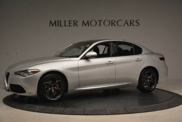 New 2017 Alfa Romeo Giulia Ti Q4 for sale Sold at Bentley Greenwich in Greenwich CT 06830 2