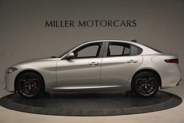 New 2017 Alfa Romeo Giulia Ti Q4 for sale Sold at Bentley Greenwich in Greenwich CT 06830 3