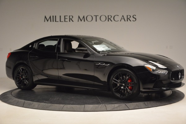 New 2017 Maserati Ghibli SQ4 S Q4 Nerissimo Edition for sale Sold at Bentley Greenwich in Greenwich CT 06830 10