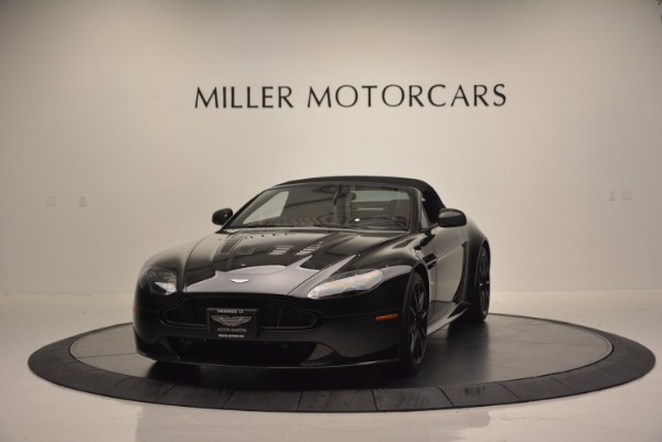 Used 2015 Aston Martin V12 Vantage S Roadster for sale Sold at Bentley Greenwich in Greenwich CT 06830 13