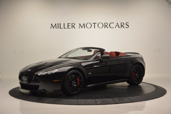 Used 2015 Aston Martin V12 Vantage S Roadster for sale Sold at Bentley Greenwich in Greenwich CT 06830 2