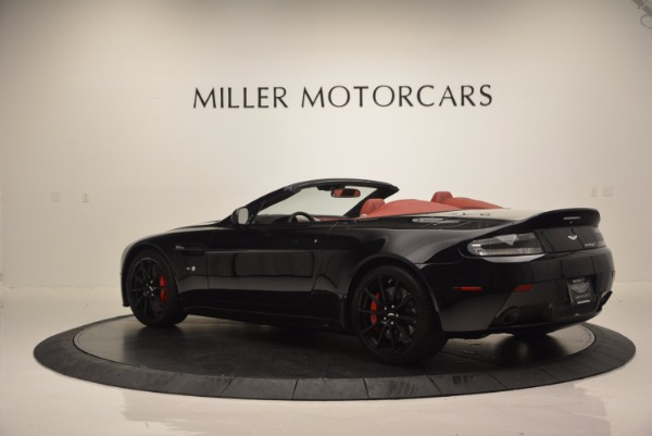 Used 2015 Aston Martin V12 Vantage S Roadster for sale Sold at Bentley Greenwich in Greenwich CT 06830 4