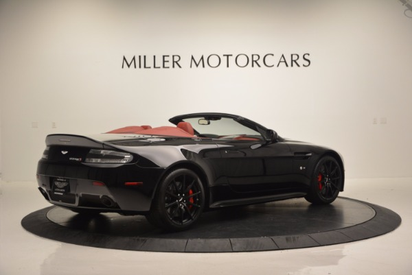 Used 2015 Aston Martin V12 Vantage S Roadster for sale Sold at Bentley Greenwich in Greenwich CT 06830 8
