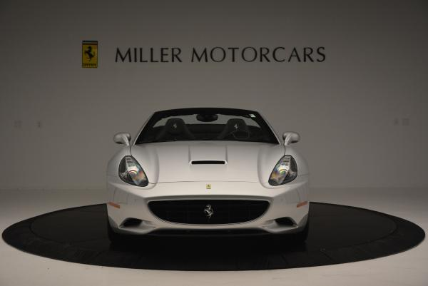 Used 2012 Ferrari California for sale Sold at Bentley Greenwich in Greenwich CT 06830 12