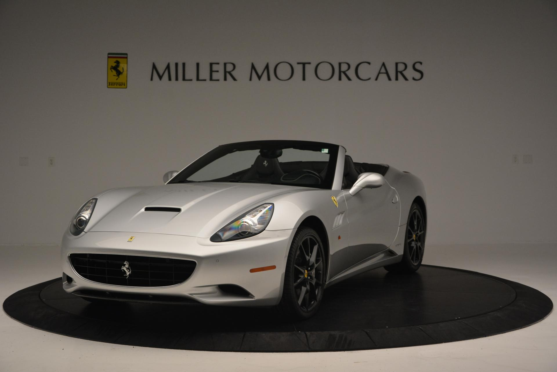 Used 2012 Ferrari California for sale Sold at Bentley Greenwich in Greenwich CT 06830 1