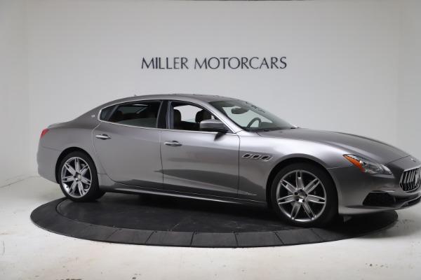 Used 2017 Maserati Quattroporte SQ4 GranLusso/ Zegna for sale $62,900 at Bentley Greenwich in Greenwich CT 06830 10