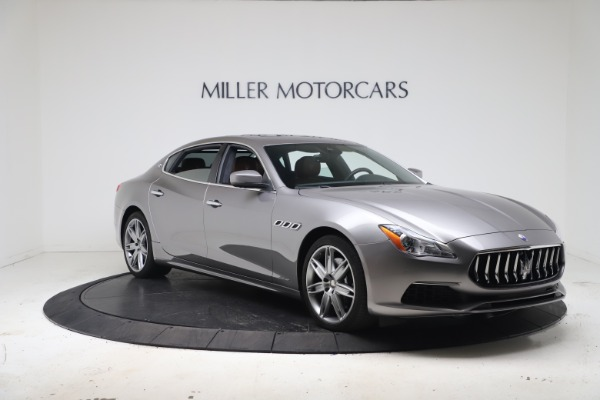 New 2017 Maserati Quattroporte SQ4 GranLusso/ Zegna for sale Sold at Bentley Greenwich in Greenwich CT 06830 11
