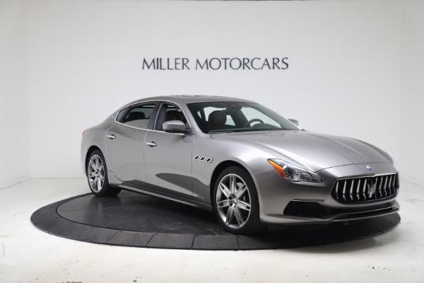 Used 2017 Maserati Quattroporte SQ4 GranLusso/ Zegna for sale $62,900 at Bentley Greenwich in Greenwich CT 06830 11