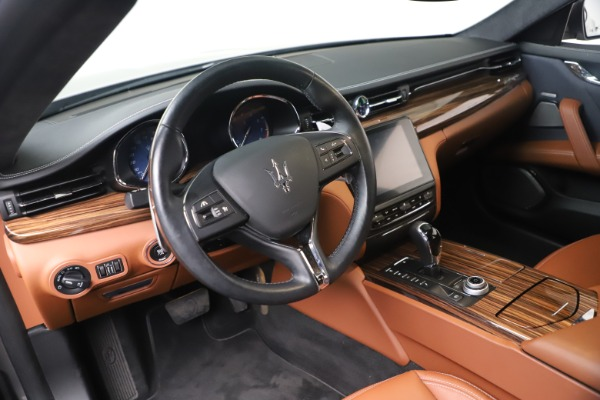 Used 2017 Maserati Quattroporte SQ4 GranLusso/ Zegna for sale $62,900 at Bentley Greenwich in Greenwich CT 06830 13