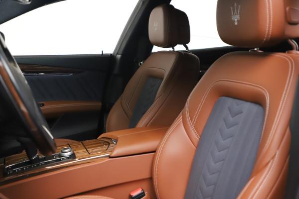 Used 2017 Maserati Quattroporte SQ4 GranLusso/ Zegna for sale $62,900 at Bentley Greenwich in Greenwich CT 06830 15