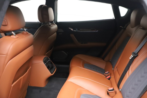 Used 2017 Maserati Quattroporte SQ4 GranLusso/ Zegna for sale $62,900 at Bentley Greenwich in Greenwich CT 06830 18