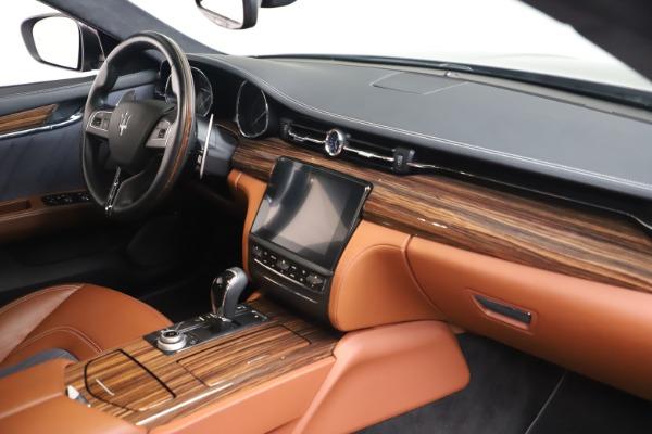 Used 2017 Maserati Quattroporte SQ4 GranLusso/ Zegna for sale $62,900 at Bentley Greenwich in Greenwich CT 06830 19
