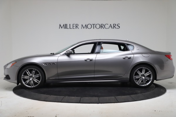 New 2017 Maserati Quattroporte SQ4 GranLusso/ Zegna for sale Sold at Bentley Greenwich in Greenwich CT 06830 3