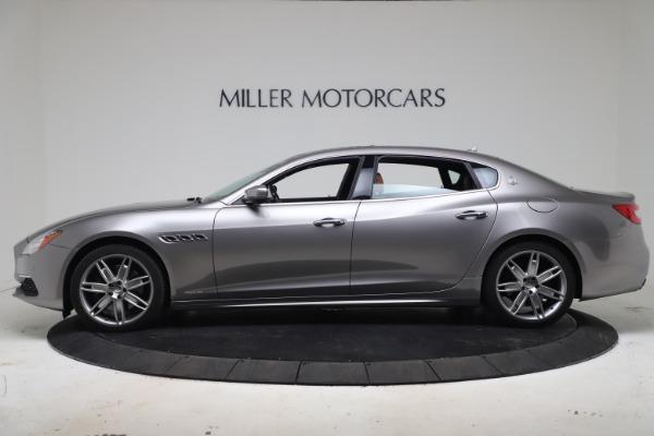 Used 2017 Maserati Quattroporte SQ4 GranLusso/ Zegna for sale $62,900 at Bentley Greenwich in Greenwich CT 06830 3