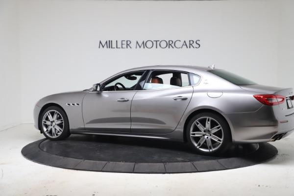 Used 2017 Maserati Quattroporte SQ4 GranLusso/ Zegna for sale $62,900 at Bentley Greenwich in Greenwich CT 06830 4