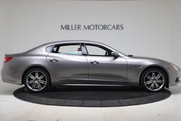 New 2017 Maserati Quattroporte SQ4 GranLusso/ Zegna for sale Sold at Bentley Greenwich in Greenwich CT 06830 9