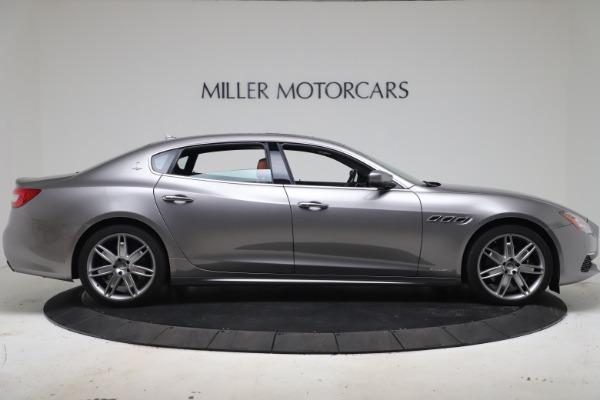 Used 2017 Maserati Quattroporte SQ4 GranLusso/ Zegna for sale $62,900 at Bentley Greenwich in Greenwich CT 06830 9