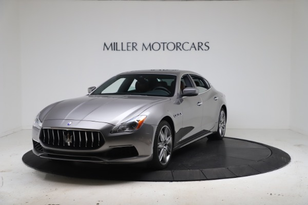 New 2017 Maserati Quattroporte SQ4 GranLusso/ Zegna for sale Sold at Bentley Greenwich in Greenwich CT 06830 1