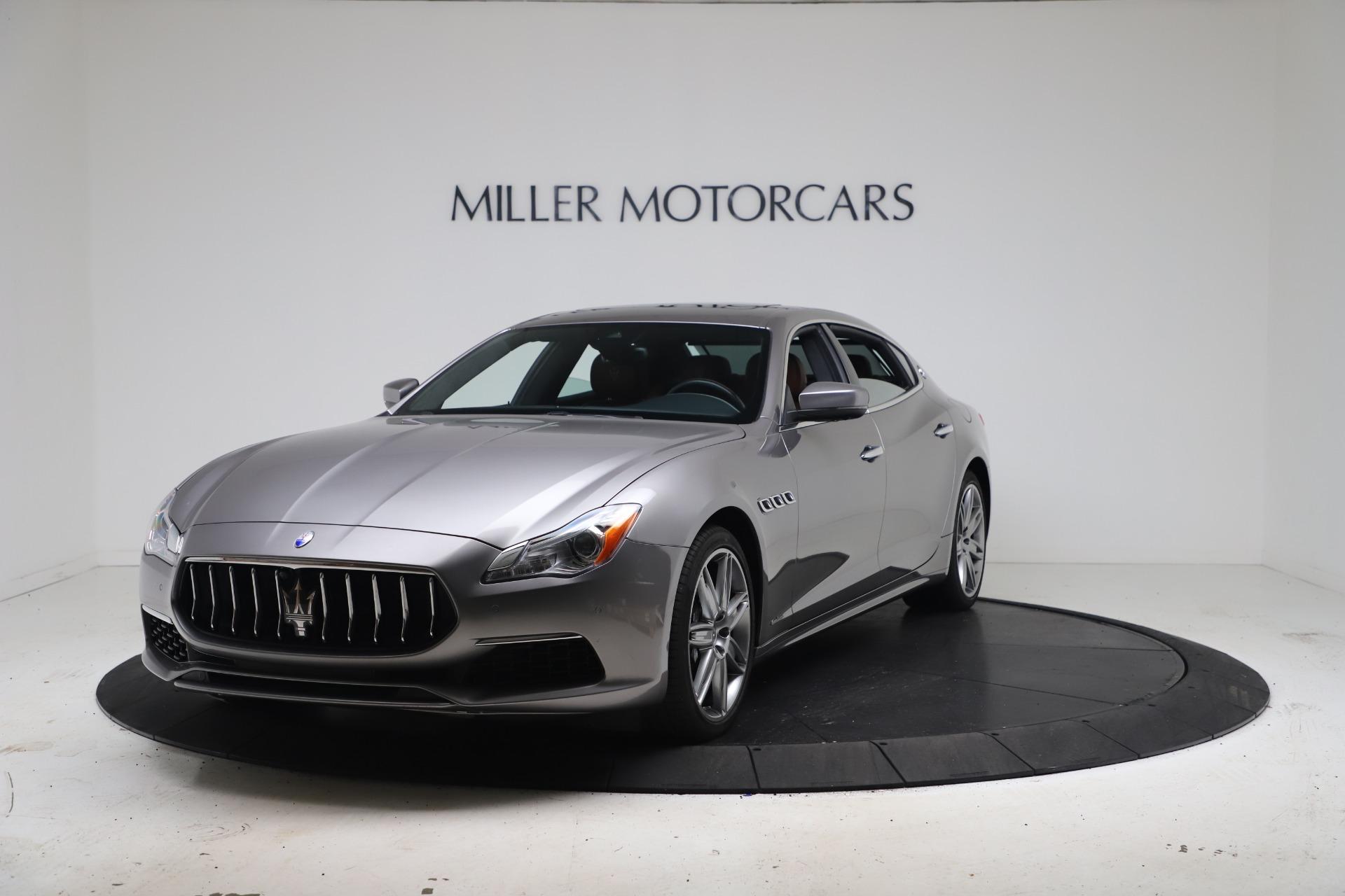 Used 2017 Maserati Quattroporte SQ4 GranLusso/ Zegna for sale $62,900 at Bentley Greenwich in Greenwich CT 06830 1