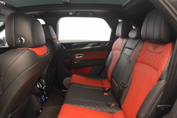 Used 2018 Bentley Bentayga W12 Signature for sale Sold at Bentley Greenwich in Greenwich CT 06830 28