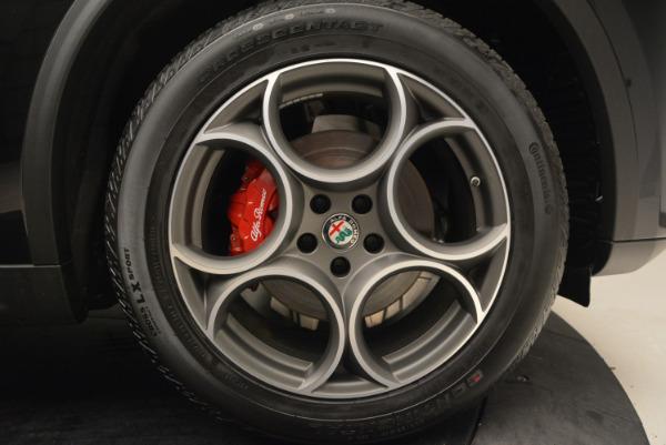 New 2018 Alfa Romeo Stelvio Sport Q4 for sale Sold at Bentley Greenwich in Greenwich CT 06830 25