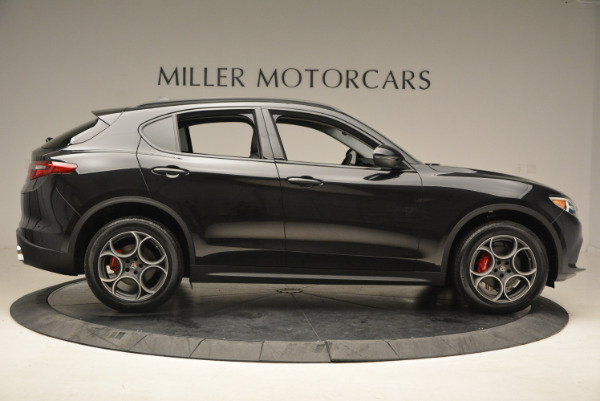 New 2018 Alfa Romeo Stelvio Sport Q4 for sale Sold at Bentley Greenwich in Greenwich CT 06830 9