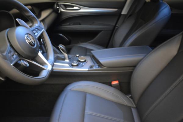 New 2018 Alfa Romeo Stelvio Sport Q4 for sale Sold at Bentley Greenwich in Greenwich CT 06830 14