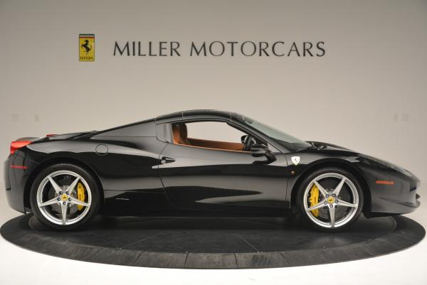 Used 2015 Ferrari 458 Spider for sale Sold at Bentley Greenwich in Greenwich CT 06830 21