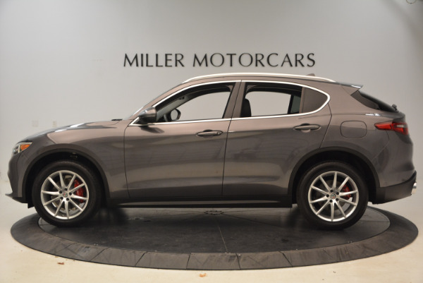 New 2018 Alfa Romeo Stelvio Ti Q4 for sale Sold at Bentley Greenwich in Greenwich CT 06830 3