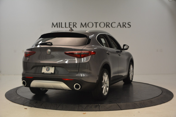 New 2018 Alfa Romeo Stelvio Ti Q4 for sale Sold at Bentley Greenwich in Greenwich CT 06830 7