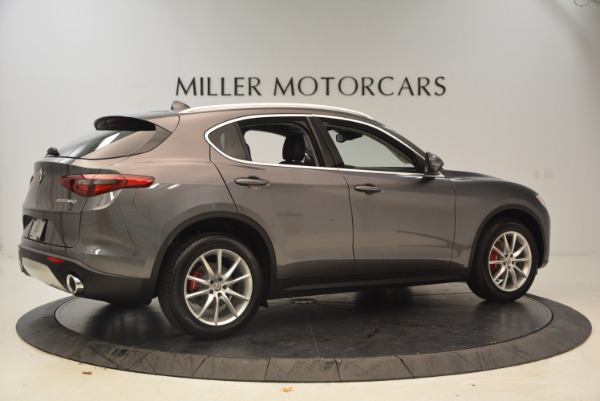 New 2018 Alfa Romeo Stelvio Ti Q4 for sale Sold at Bentley Greenwich in Greenwich CT 06830 8