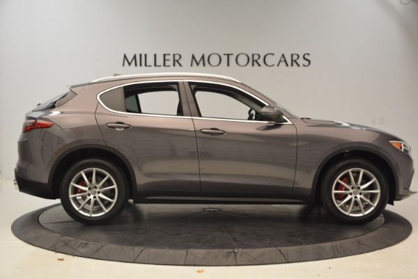 New 2018 Alfa Romeo Stelvio Ti Q4 for sale Sold at Bentley Greenwich in Greenwich CT 06830 9