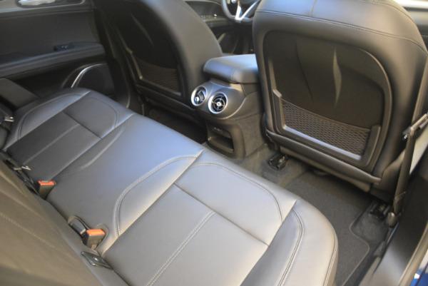 New 2018 Alfa Romeo Stelvio Sport Q4 for sale Sold at Bentley Greenwich in Greenwich CT 06830 22