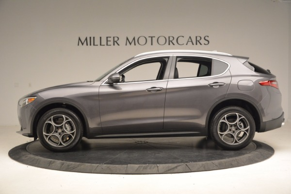 New 2018 Alfa Romeo Stelvio Q4 for sale Sold at Bentley Greenwich in Greenwich CT 06830 3