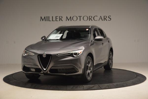 New 2018 Alfa Romeo Stelvio Q4 for sale Sold at Bentley Greenwich in Greenwich CT 06830 1