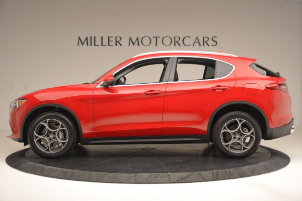 New 2018 Alfa Romeo Stelvio for sale Sold at Bentley Greenwich in Greenwich CT 06830 3