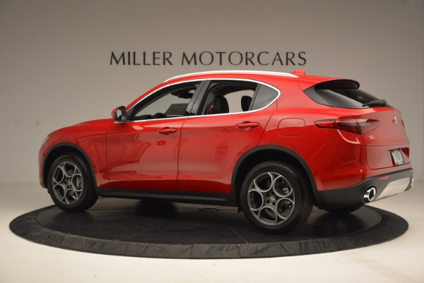 New 2018 Alfa Romeo Stelvio for sale Sold at Bentley Greenwich in Greenwich CT 06830 4