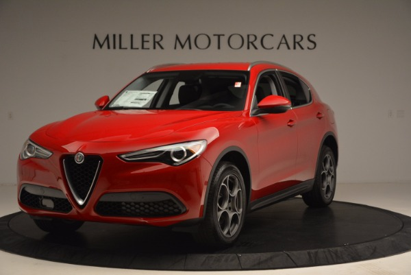 New 2018 Alfa Romeo Stelvio for sale Sold at Bentley Greenwich in Greenwich CT 06830 1