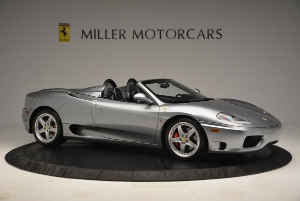 Used 2004 Ferrari 360 Spider 6-Speed Manual for sale Sold at Bentley Greenwich in Greenwich CT 06830 10