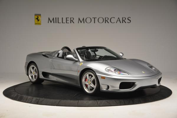 Used 2004 Ferrari 360 Spider 6-Speed Manual for sale Sold at Bentley Greenwich in Greenwich CT 06830 11