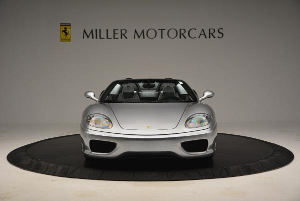 Used 2004 Ferrari 360 Spider 6-Speed Manual for sale Sold at Bentley Greenwich in Greenwich CT 06830 12