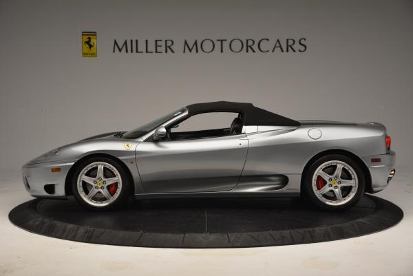 Used 2004 Ferrari 360 Spider 6-Speed Manual for sale Sold at Bentley Greenwich in Greenwich CT 06830 15