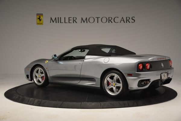 Used 2004 Ferrari 360 Spider 6-Speed Manual for sale Sold at Bentley Greenwich in Greenwich CT 06830 16